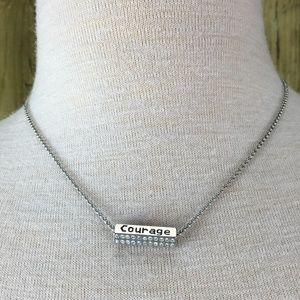 Lia Sophia Inspirational Pendant Necklace